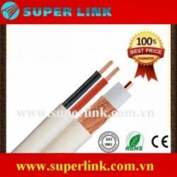 Cáp đồng trục RG59 + 2C Superlink